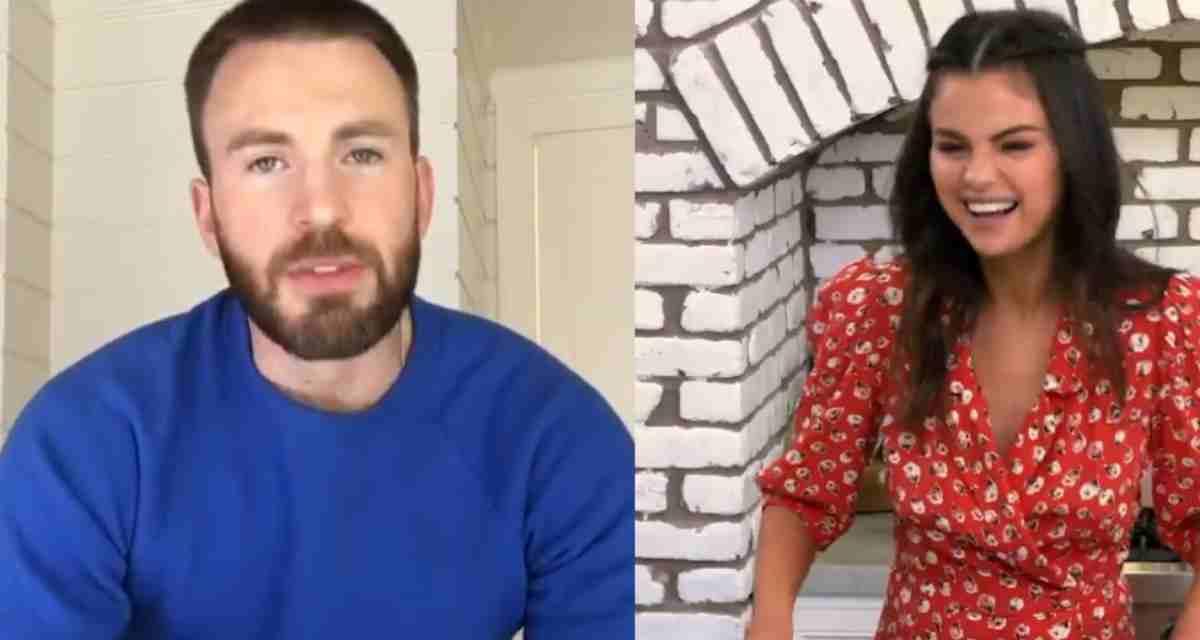 Fans de Selena Gomez enloquecen por romance con Chris Evans
