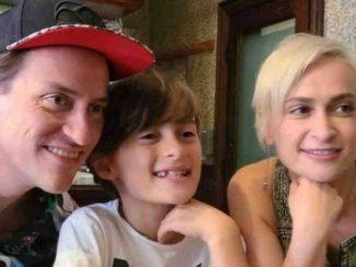 Halyna Hutchins y su familia