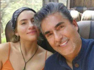 Raúl Araiza y su hija Camila